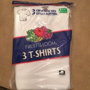 Fruit of the Loom 3-T shirts